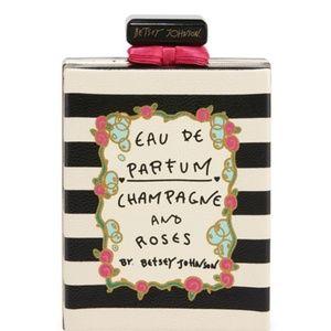 Betsey Johnson Eau So Pretty Perfume Clutch Bag